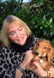 Sandra and puppy