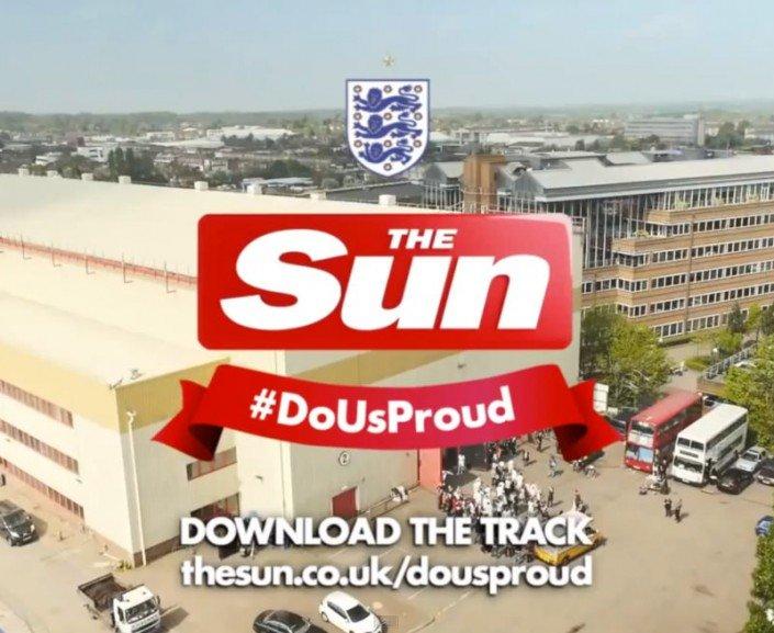 The Sun Advert