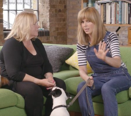 Kate Garraway learns to train dogs