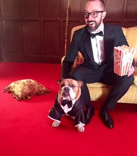 Tottie bulldog stars in the oscars ad 2