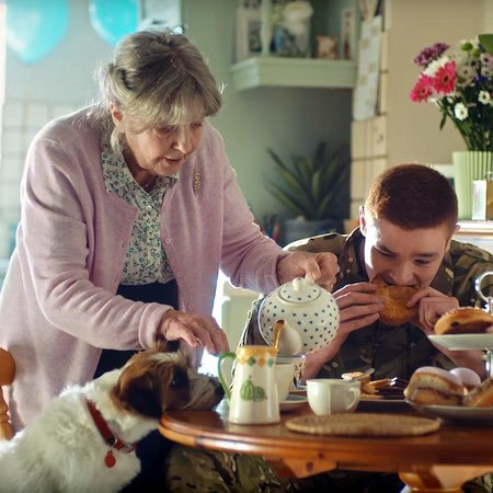 Morrisons Advert with Ivor Jack Russell